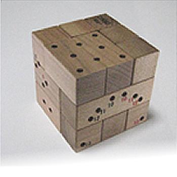小さな孔から蘇るビクトリア王朝の古典パズル 悪魔の立方体